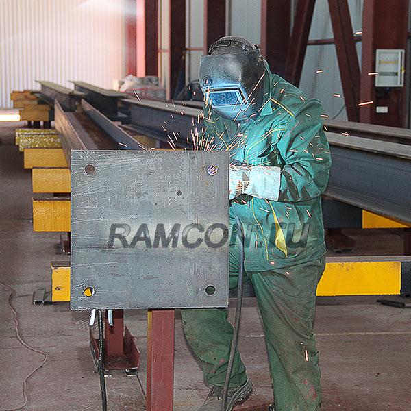 Металлоконструкции по индивидуальному заказу и чертежам заказчика