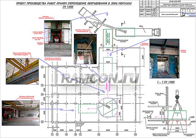 Мы выполняем ППР перемещение оборудования в зону монтажа (погрузки) монтаж, демонтаж оборудования.