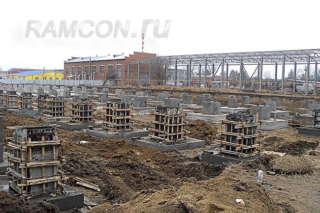 Виды фундаментов, применяемые в строительстве домов