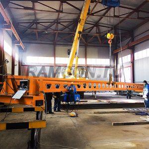 Изготовление кран-балки от завода